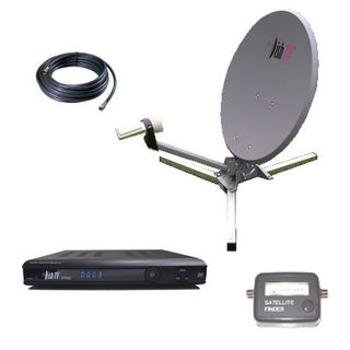 Motorhome Receiver & Dish Pack