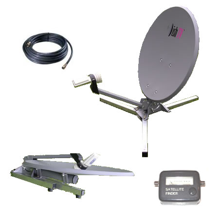 Motorhome Portable Dish Pack