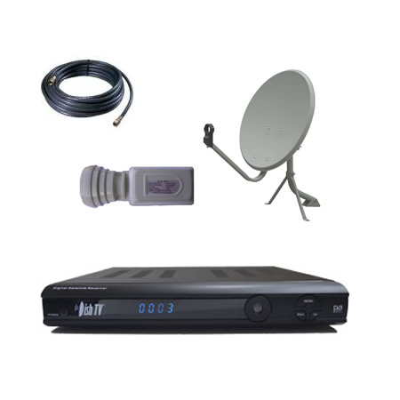 Freeview DishTV S7010PVR (75cm Eve Mount) Package