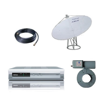 Australia Networks Package - 1.2m C- Band