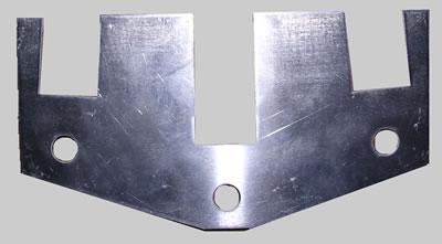 Triple Sat LNB plate only